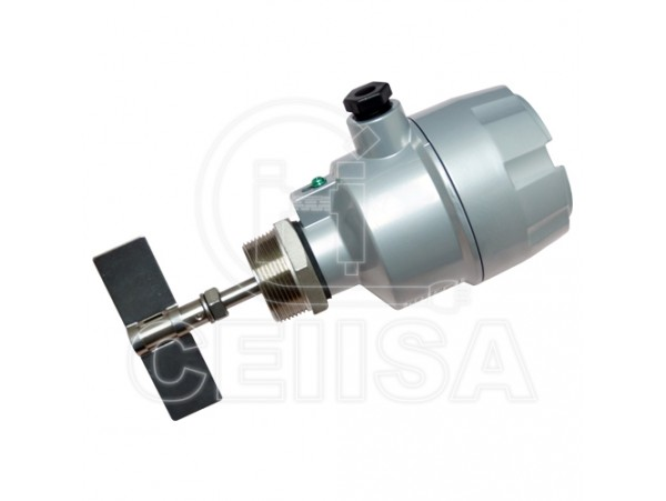 SE110AEUA - Finetek - Switch de Nivel Rotativo para Solidos Rosca 1""