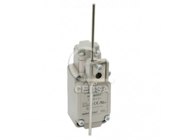 HYM 907 - Hanyoung - Limit Switch con Brazo de Barilla Ajustable 1NA+1NC