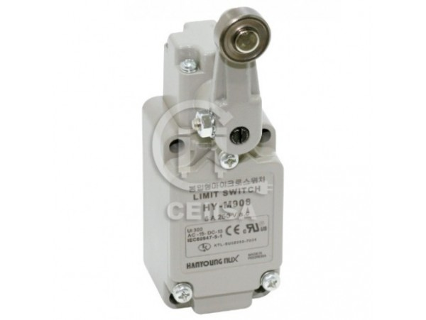 HYM 908 - Hanyoung - Limit Switch con Brazo de Rodillo Fijo 1NA+1NC