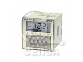 LF4-NA - Hanyoung - Timer LCD 8 pin 48X48mm T. Switch Multifunción