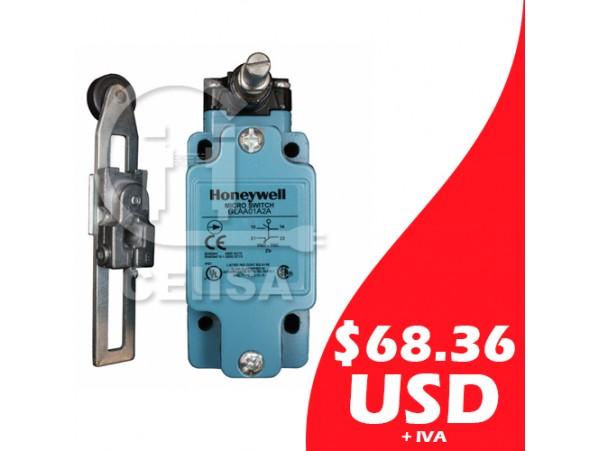 GLAA01A2A - Honeywell - Micro Switch con Brazo Ajustable