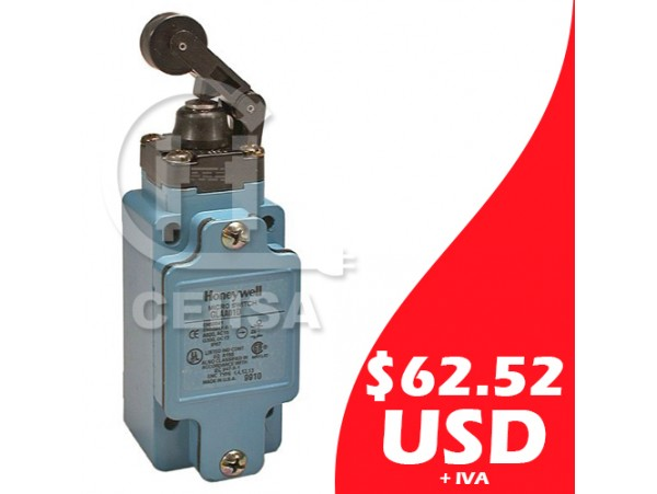 GLAA01D - Honeywell - Limit Switch con Pivote y Botón
